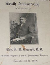 Reverend George B. Howard, D.D.