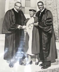 Dr. Grady W. Powell and Dr. Samuel D. Proctor