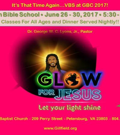 Vacation Bible School 2017